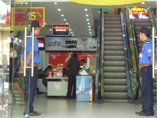 Bảo vệ tòa nhà - trung tâm thương mại