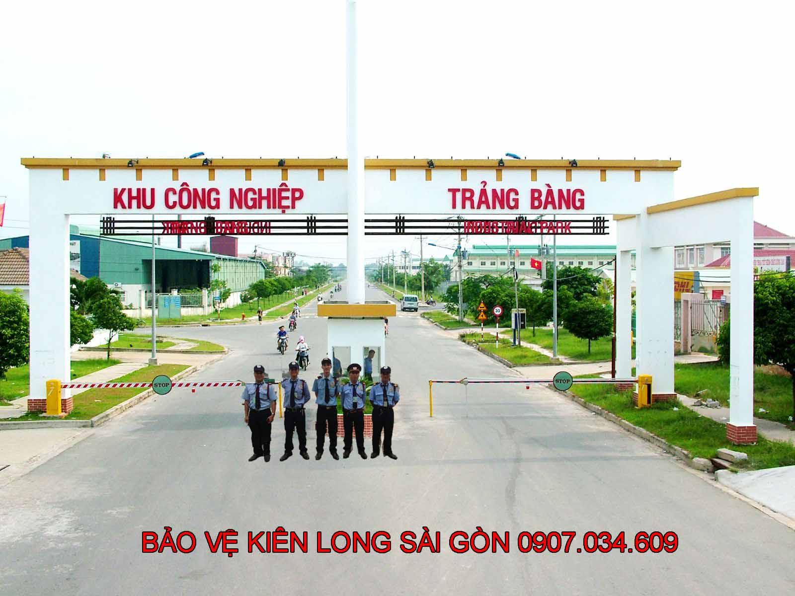 Dịch vụ bảo vệ khu công nghiệp Trảng Bàng Tây Ninh